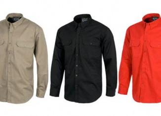 Camisas de trabajo de algodón 100% en Uniforma