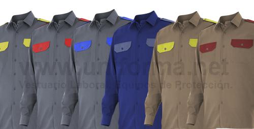 Fabricación de camisas de trabajo