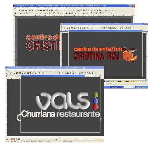 Diseño y simulación de bordados en Uniforma.