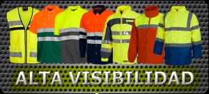 Vestuario laboral de alta visibilidad.