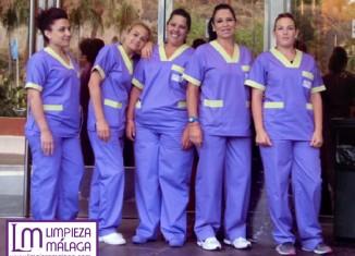 Trabajadoras de Limpiezas Málaga