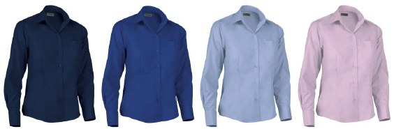 Camisas entalladas de mujer en Uniforma