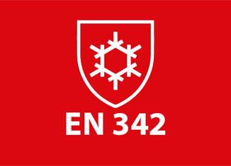 Ropa de trabajo de protección contra el frio Norma EN 342