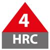 4 HRC: Valor de arco de mono o camiseta y pantalón, y traje para fogonazos de arco, para que el sistema alcance un valor de arco mínimo requerido 40
