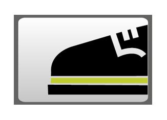 Suelas de zapatos de trabajo de doble densidad