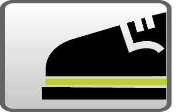 Zapatos de trabajo con suelas de doble densidad