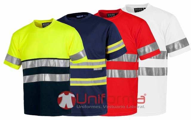 212519c629fe Camisetas de alta visibilidad en Uniforma, tu web de ropa de trabajo