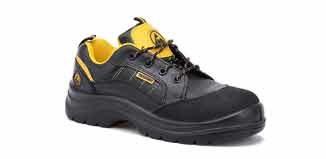 Zapato de trabajo ESD con puntera y plantilla