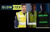 Ropa de trabajo que brilla en la oscuridad gracias a las cintas Glowtex