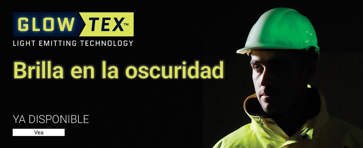 Cascos de trabajo brillan oscuridad Glowtex_ES