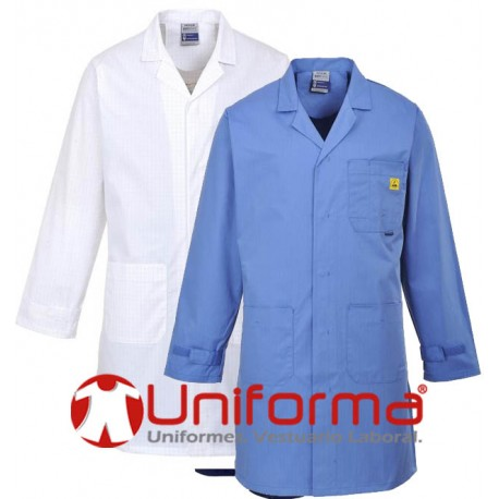 ropa de trabajo antiestática