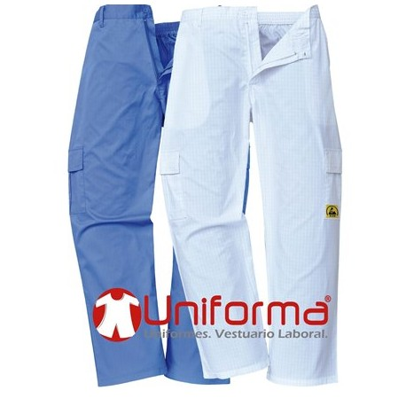 pantalon de trabajo antiestático