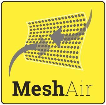 Tejido de alta visibilidad MeshAir en Uniforma