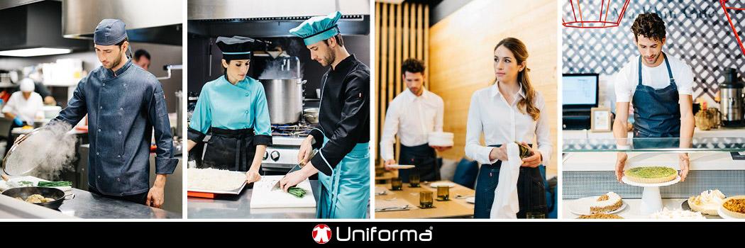 Uniformes de cocinero en Uniforma