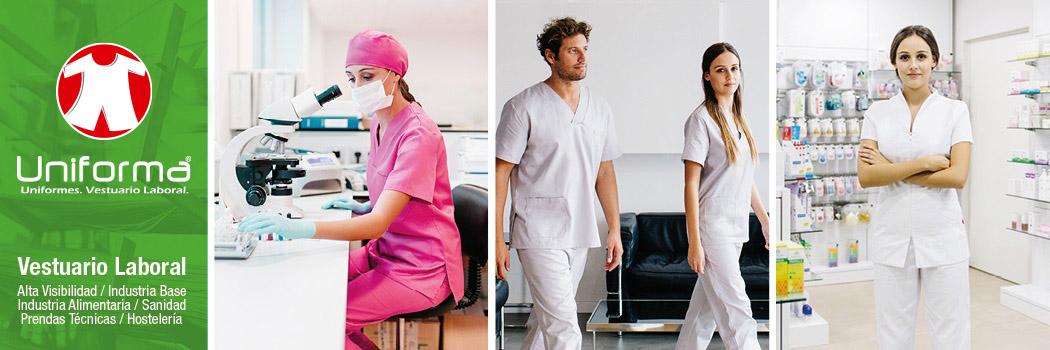 Ropa de trabajo y uniformes sanitarios en Uniforma.