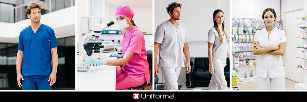 Ropa de trabajo y uniformes sanitarios en uniforma