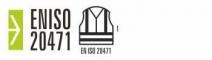 Pantalón de trabajo multibolsillos alta visibilidad EN ISO 20471 Rojo y marino