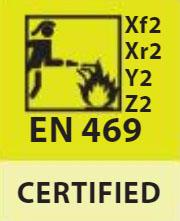 Trajes de intervención EN469 Clase 2